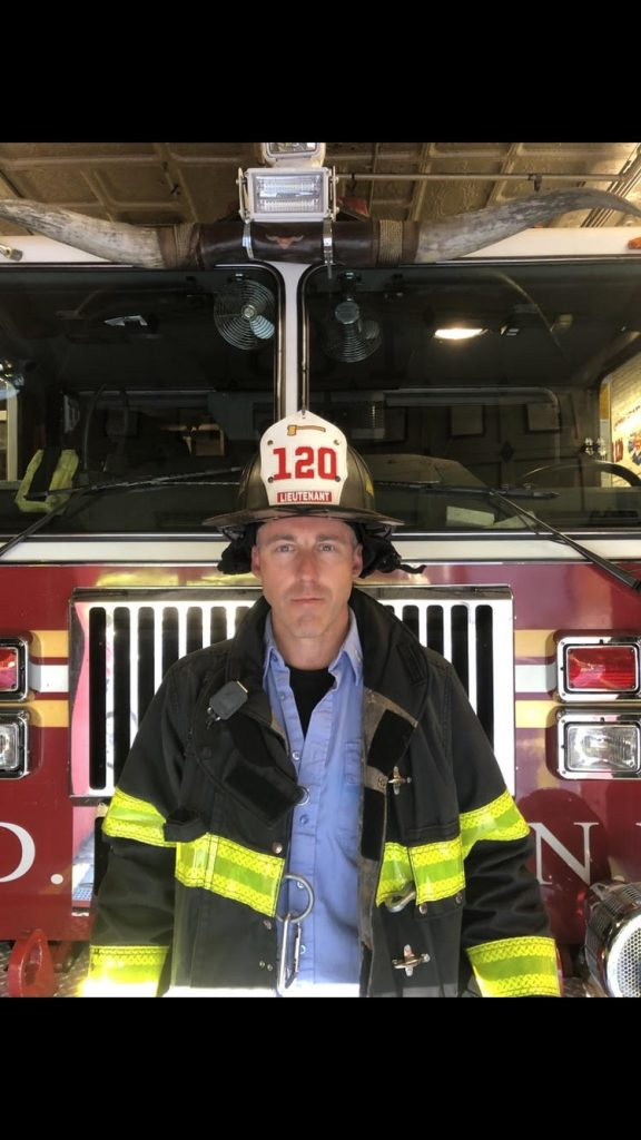 Welcome Lt. Dan Quinn to Ladder 120