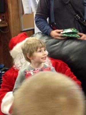 Santa Comes To Watkins Street!