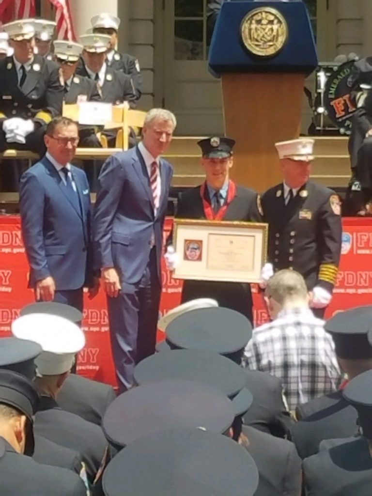 Congrats to FF Mike Meyer