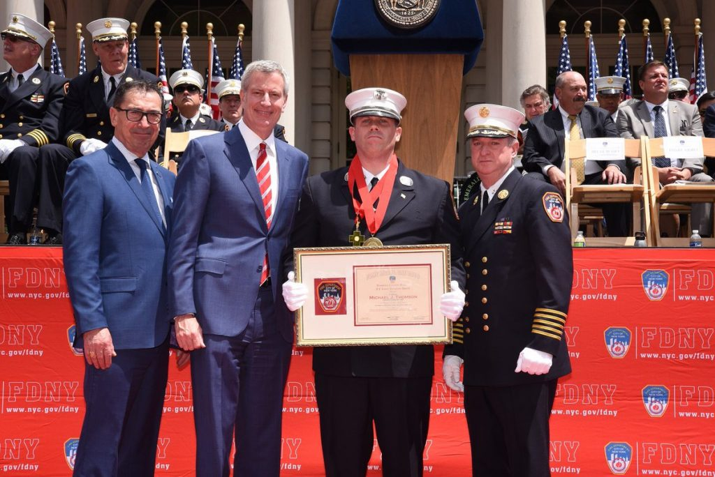 Congrats to Capt. Thomson