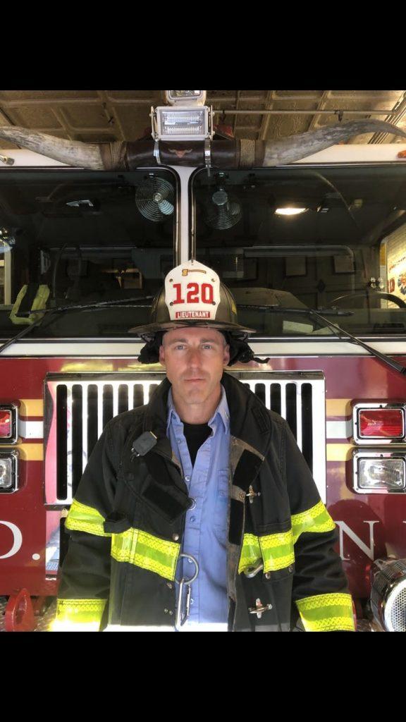 Welcome Lt. Dan Quinn to Ladder 120